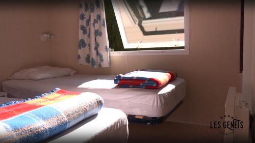Chambre double lits